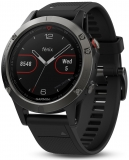 GARMIN Fénix 5 Grey Smarthodinky, Black band