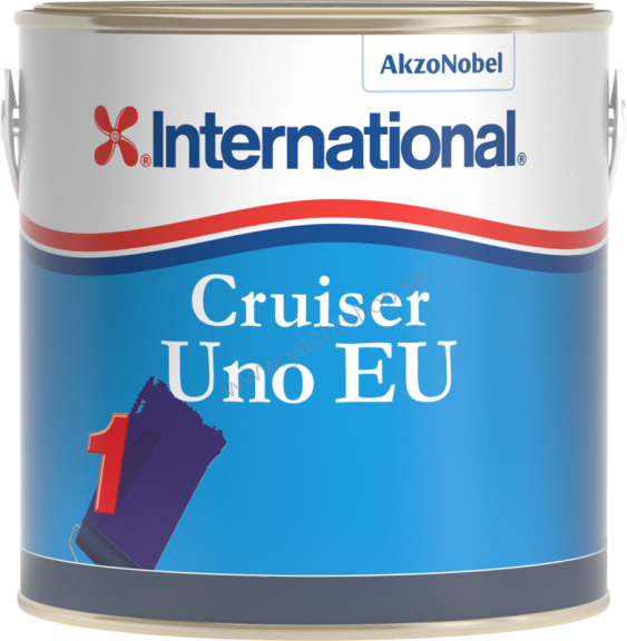 INTERNATIONAL Antifouling - Cruiser Uno EU červená 2500 ml