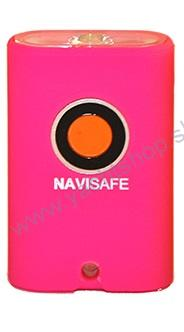 NAVISAFE mini baterka Navi light LED - ružová