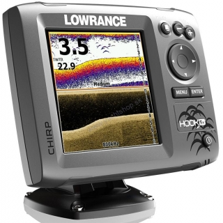 LOWRANCE HOOK 5X CHIRP DSI SET sonar