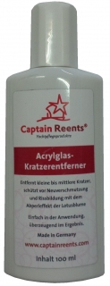 CAPTAIN REENTS Acrylglas-Kratzerentferner 100 ml