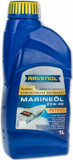 RAVENOL MARINEOIL PETROL SAE 25W40 synthetic - 1 L