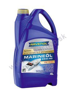 RAVENOL MARINEOIL PETROL SAE 25W40 synthetic - 4 L