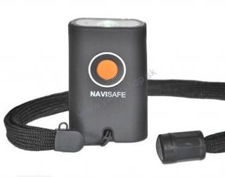 NAVISAFE mini baterka Navi light LED - čierna