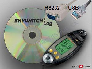 WINDMESSER Skywatch Geos 11 - Software / USB Kabel
