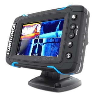 LOWRANCE ELITE-5TI so sondou TOTALSCAN
