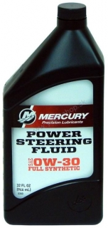 MERCURY Power Steering Fluid SAE 0W-30 Full Synthetic 946 ml
