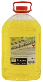 STARLINE SCREENWASH Letná zmes do ostrekovača 5 L