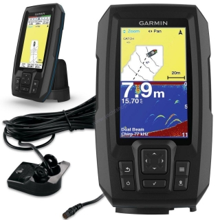 GARMIN Striker 4 Plus Ultrazvukový sonar s GPS + Quickdraw