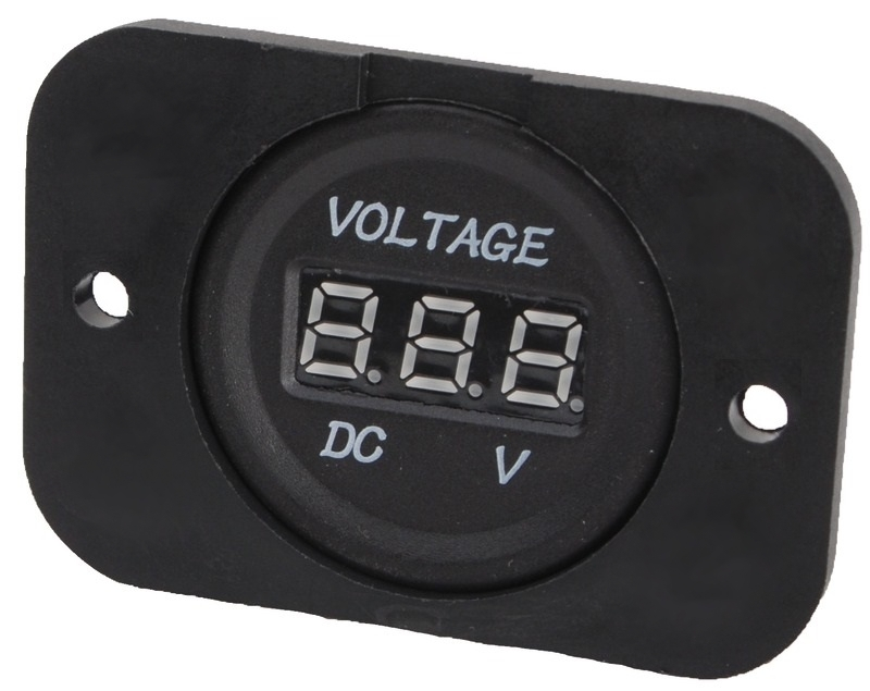 Digitálny voltmeter